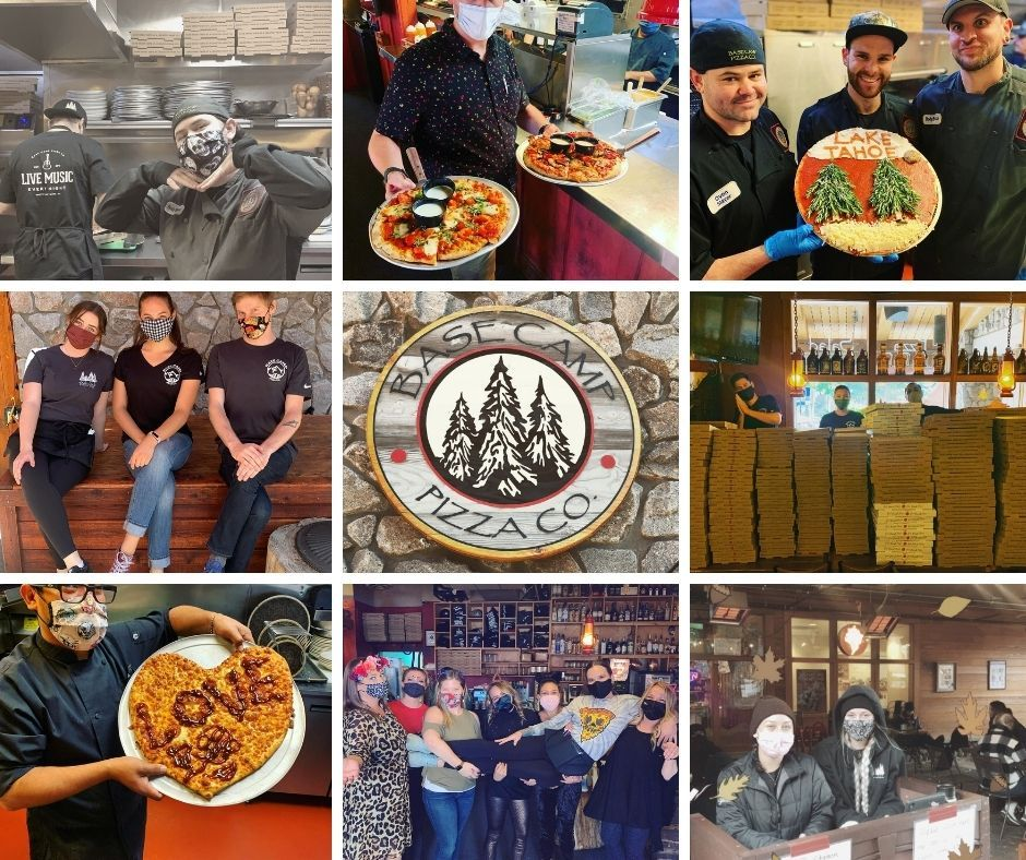 Instagram photos from Base Camp Pizza, owned by Ray Villaman.